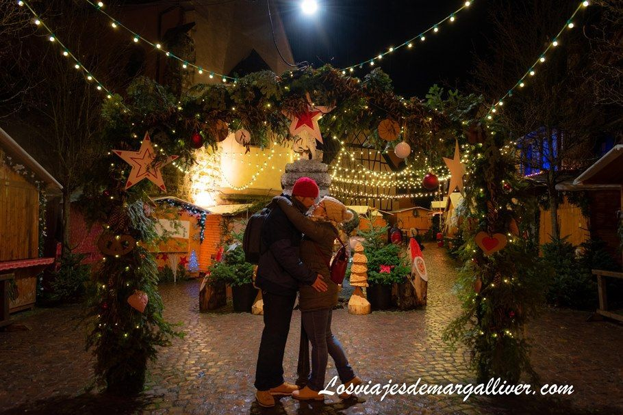 Mercado navideño en Eguisheim, en nuestra ruta por la Alsacia - Los viajes de Margalliver