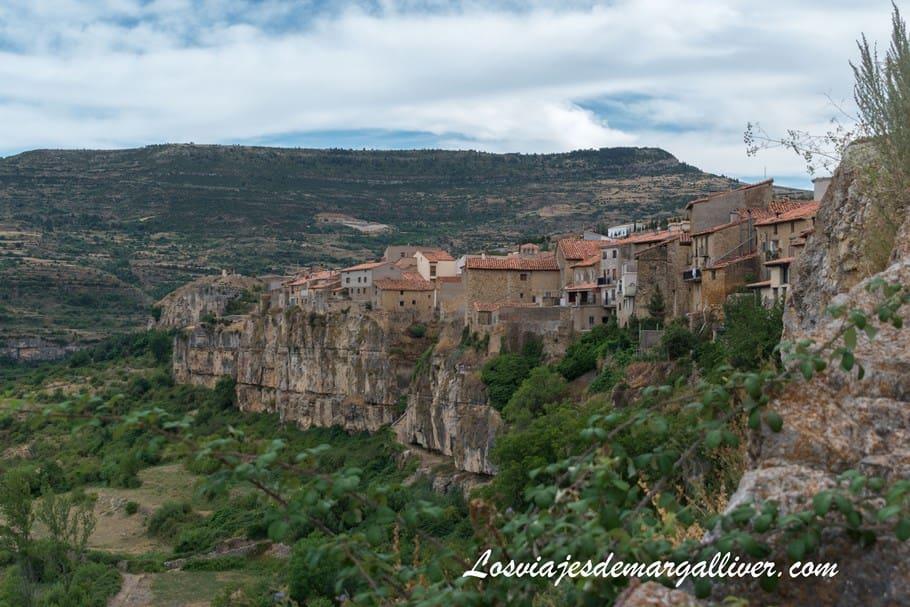 Vista de Cantavieja, uno de los pueblos más bonitos de Teruel - Los viajes de Margalliver