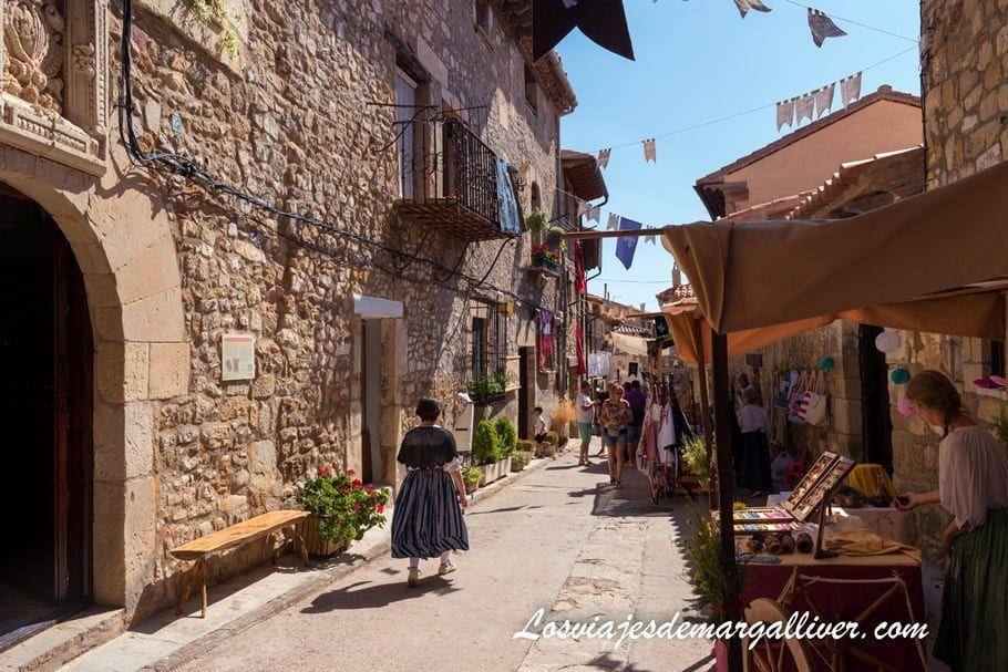 Puertomingalvo, precioso pueblo medieval en la ruta que hicimos por la provincia de Teruel - Los viajes de Margalliver
