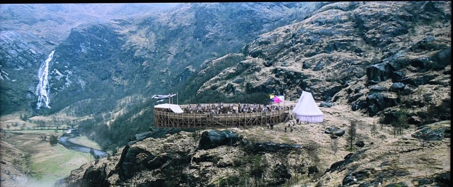 Escena de Harry Potter donde aparece la Steall Waterfall - Los viajes de Margalliver