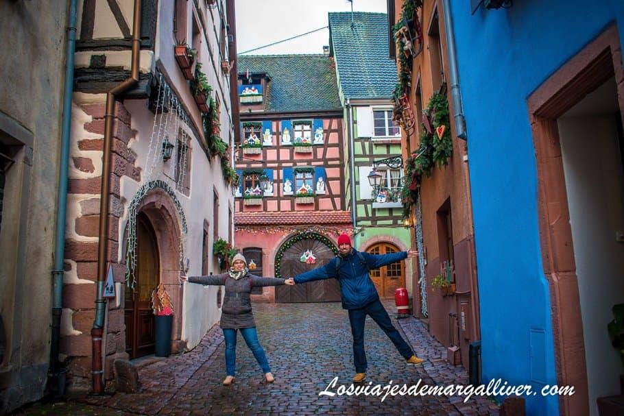 Casa Conrad Ortlieb en la Rue Laterale en Riquewihr - Los viajes de Margalliver