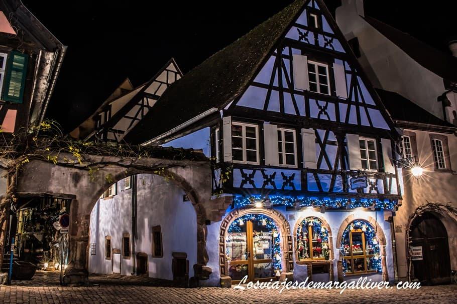 Casa en la Rue General de Gaulle y Rue de Kilian en Riquewihr - Los viajes de Margalliver