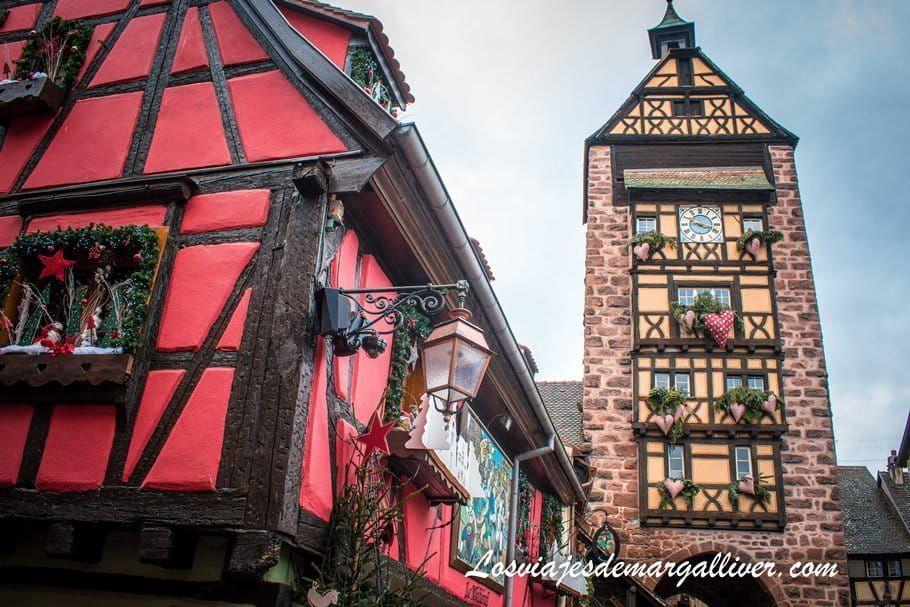 El Dolder de Riquewihr en Alsacia - Los viajes de Margalliver