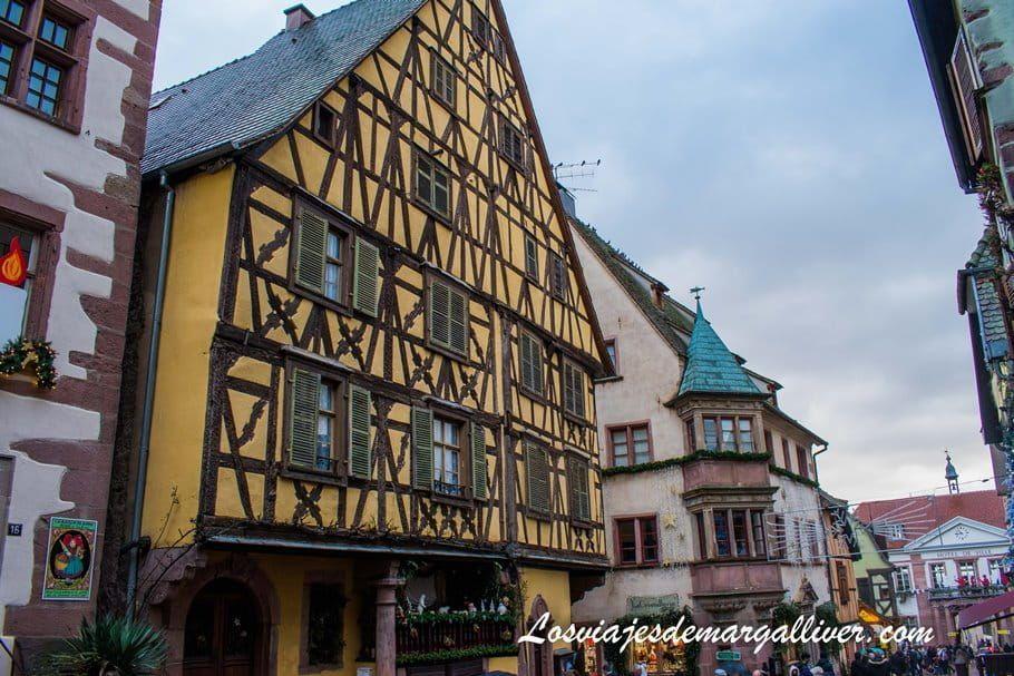 El Gratte-ciel de Riquewihr en Alsacia - Los viajes de Margalliver