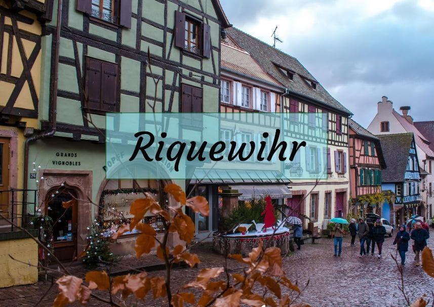 Riquewihr en Navidad, Alsacia en Navidad - Los viajes de Margalliver