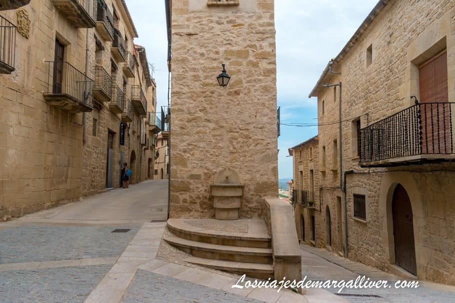 Rincón de Calaceite que nos recuerda al famoso palomar de Eguisheim en la Alsacia - Los viajes de Margalliver