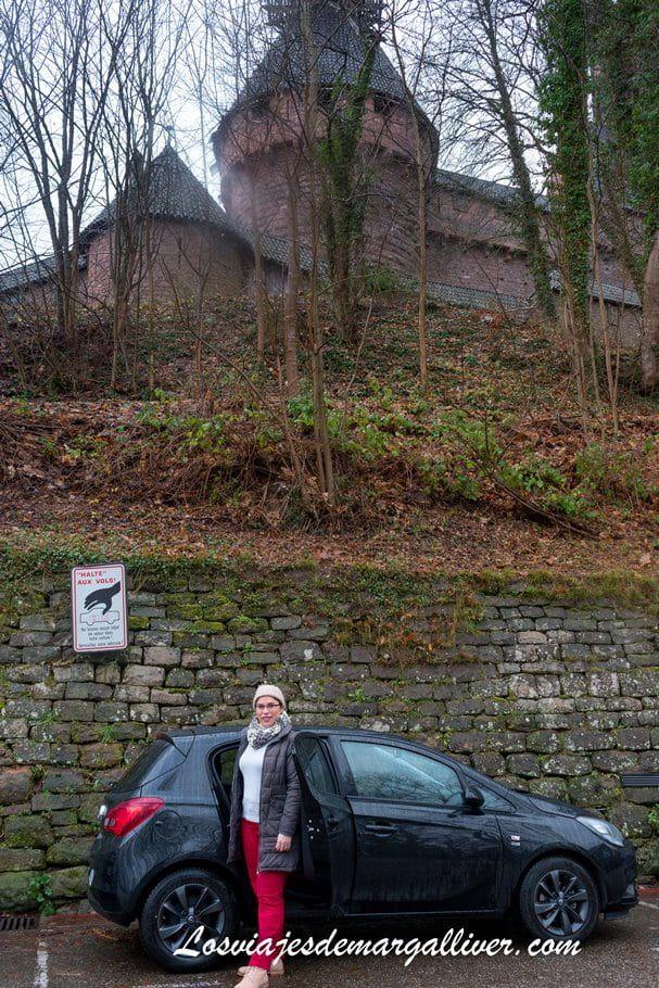 nuestro coche de alquiler con autoeurope para recorrer la Alsacia - Los viajes de Margalliver
