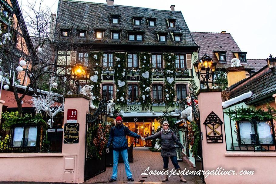 Dónde dormir en Colmar: Hostellerie Le Marechal - Los viajes de Margalliver