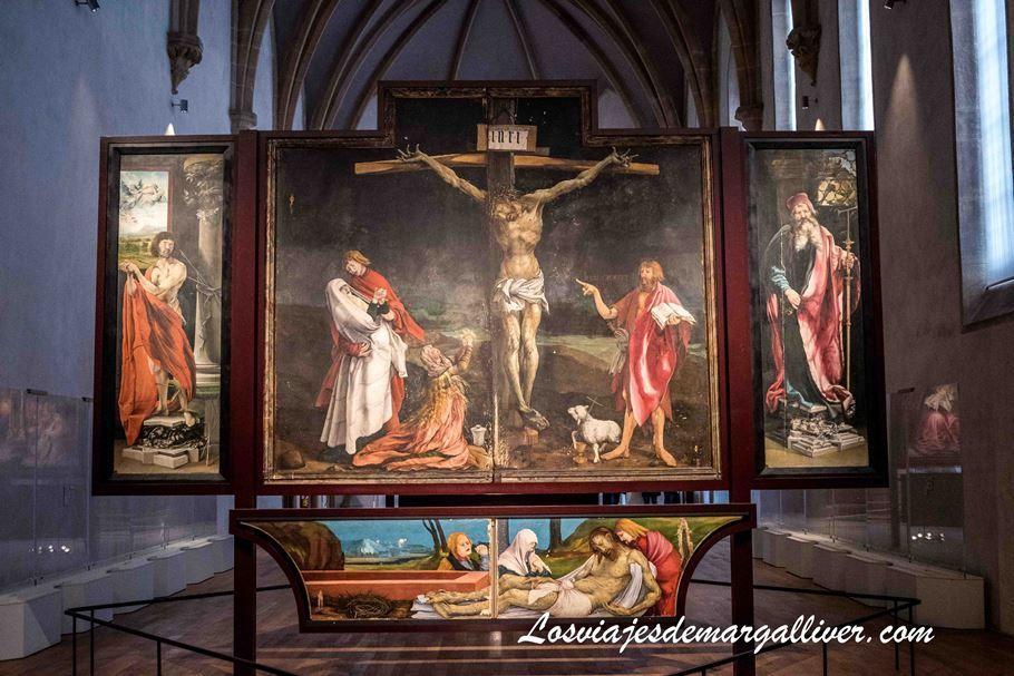 Retablo de Issenheim en el museo de Unterliden en Colmar - Los viajes de Margalliver