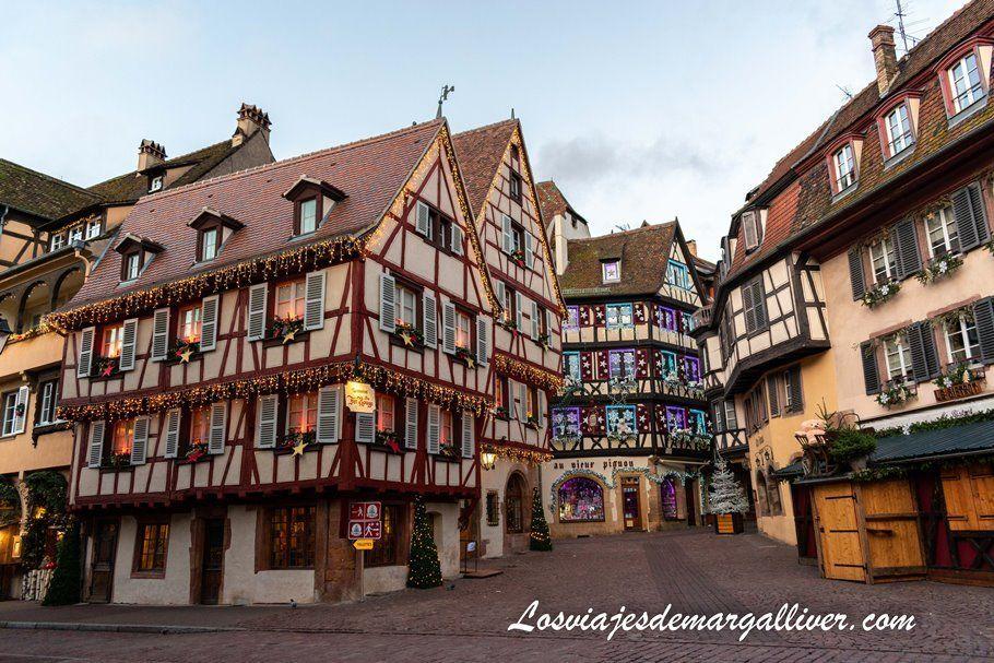 Las casas más bonitas de Colmar - Los viajes de Margalliver