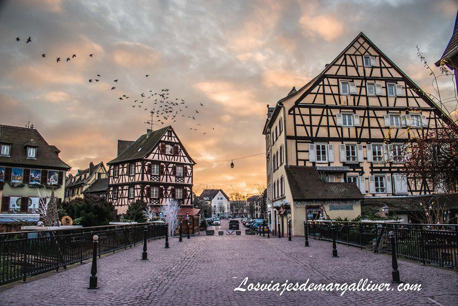 La Petit Venice al amanecer en Colmar - Los viajes de Margalliver