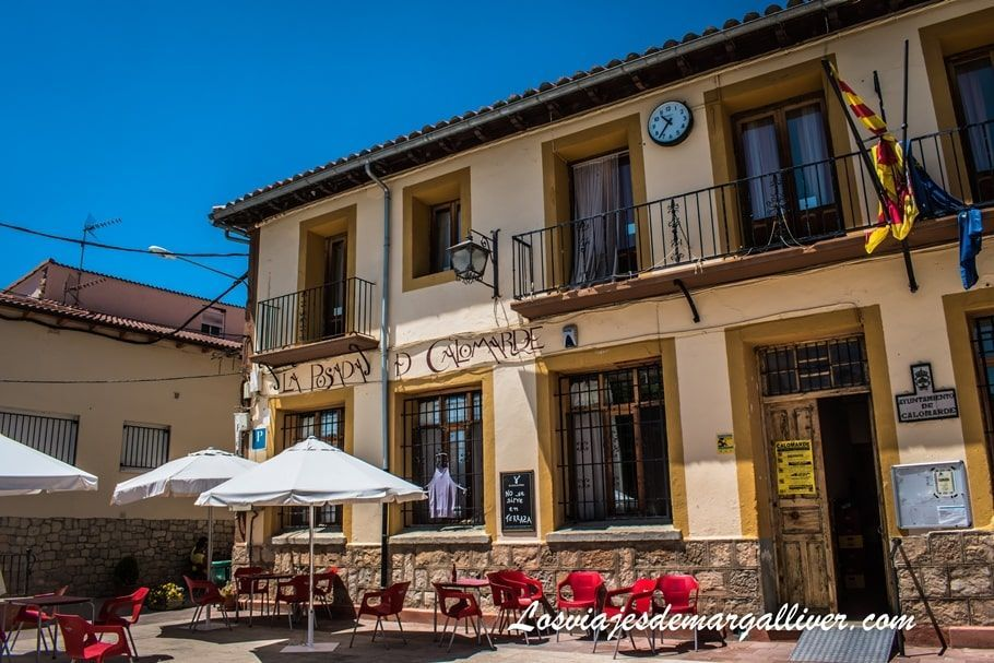 Ayuntamiento y Posada de Calomarde en Teruel - Los viajes de Margalliver