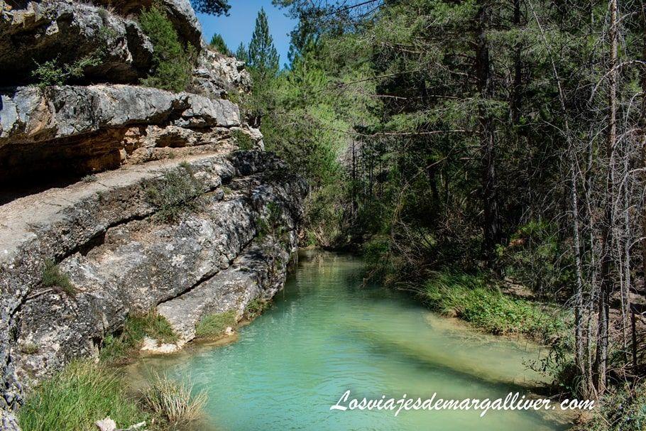 Barranco de la hoz en la Ruta por la provincia de Teruel - Los viajes de Margalliver