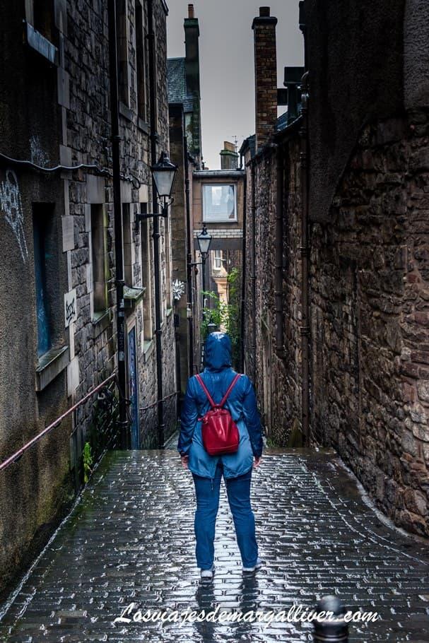 Tour de fantasmas por Edimburgo, los closes - Los viajes de Margalliver