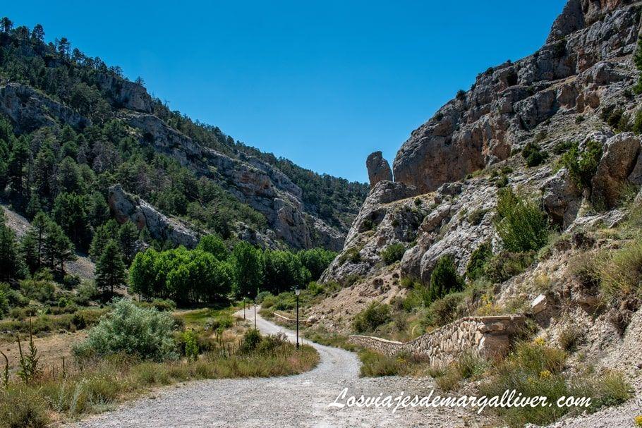 Moricacho de la Hoz en la Ruta por el Barranco de la Hoz, Calomarde en Teruel - Los viajes de Margalliver