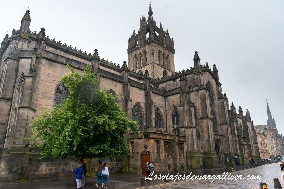 Catedral de Edimburgo en Escocia - Los viajes de Margalliver