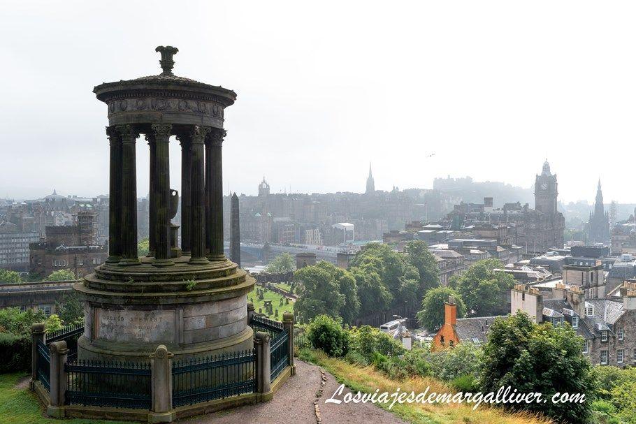 vistas de Edimburgo desde Calton Hill - Los viajes de Margalliver