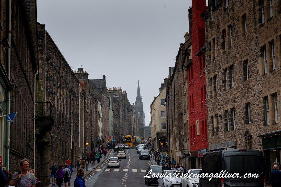 La Royal Mile de Edimburgo, la calle principal de la ciudad - Los viajes de Margalliver