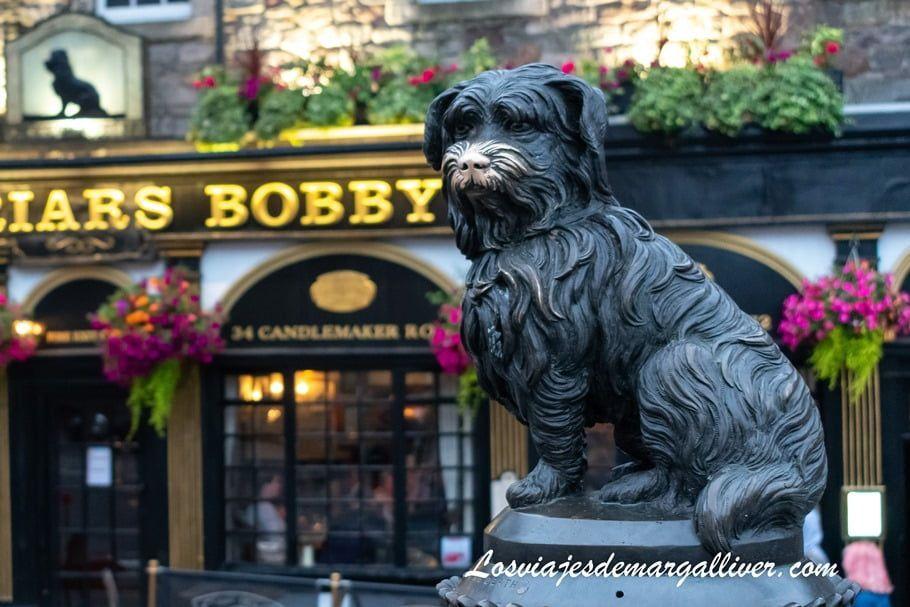 Bobby , el perro más famoso de Edimburgo - Los viajes de Margalliver