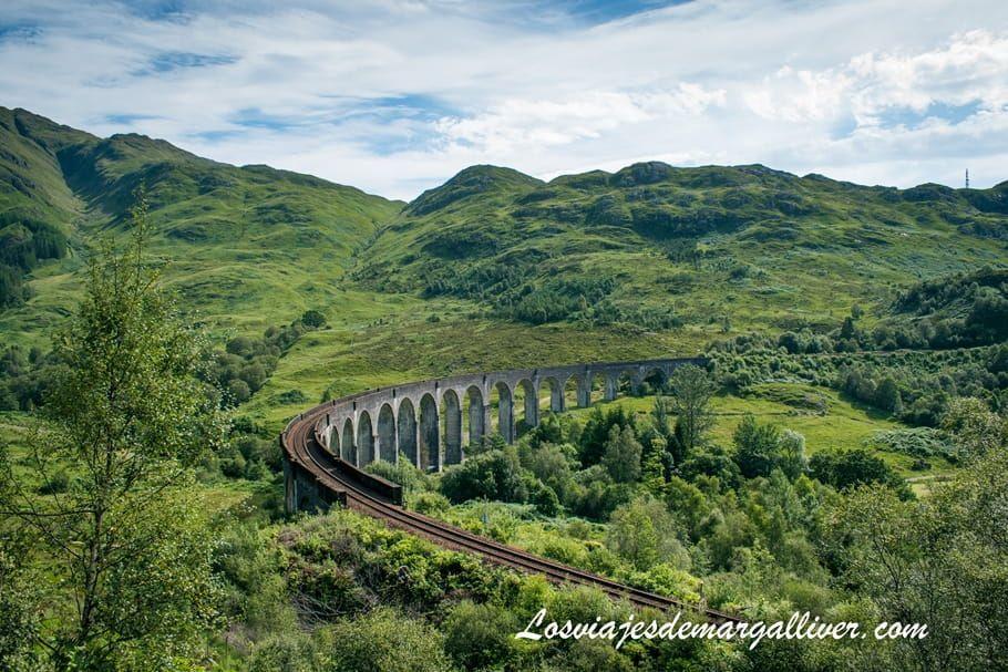 El viaducto de Glenfinnan en Escocia - Los viajes de Margalliver