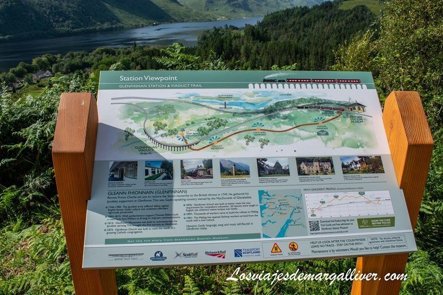 Miradores en Woodland Walk in Scotland - Los viajes de Margalliver
