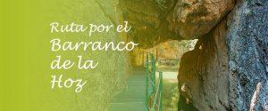 Ruta por el Barranco de la Hoz en Teruel
