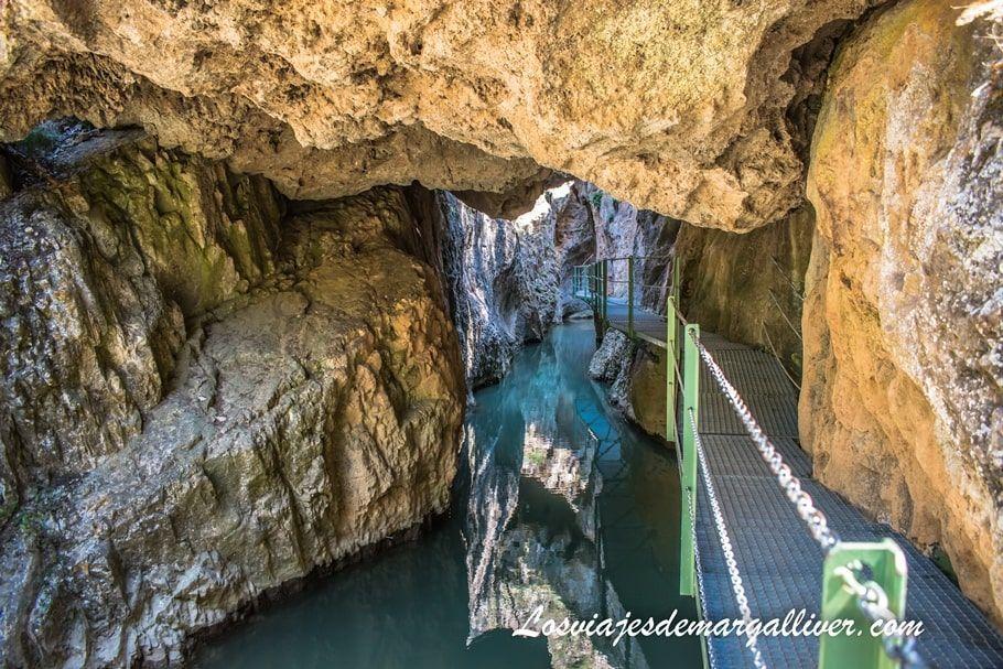 Puente de Toba, ruta por el barranco de la hoz en Teruel - Los viajes de Margalliver