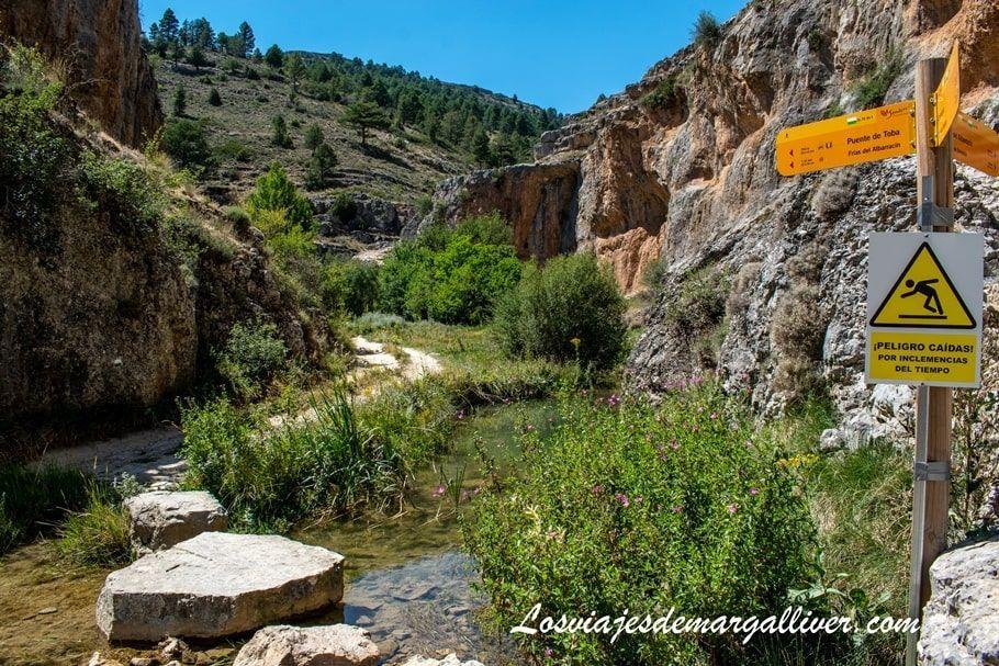 Información de la Ruta por el Barranco de la Hoz en Calomarde, Teruel - Los viajes de Margalliver