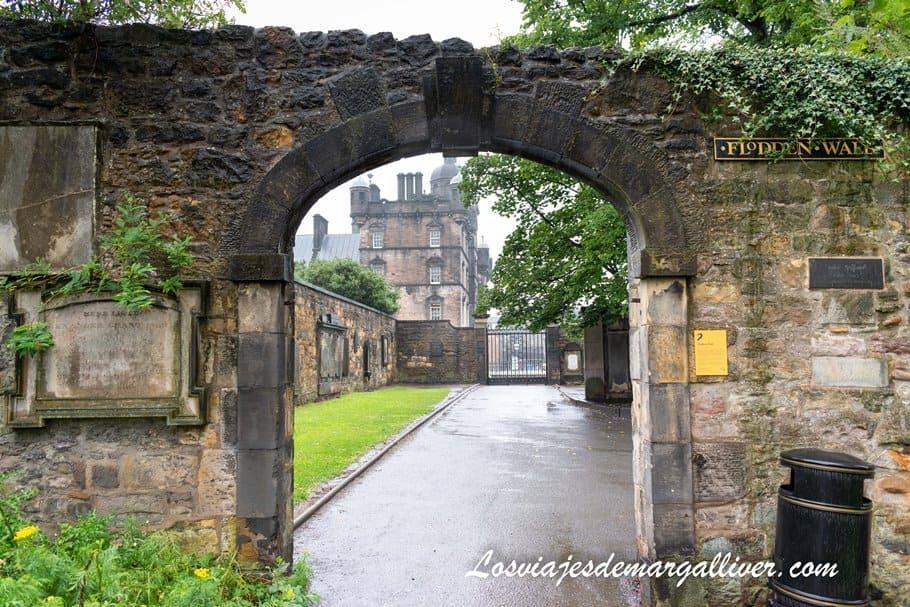 The Flodden walk edimburgo en el cementerio de Greyfrias - Los viajes de Margalliver