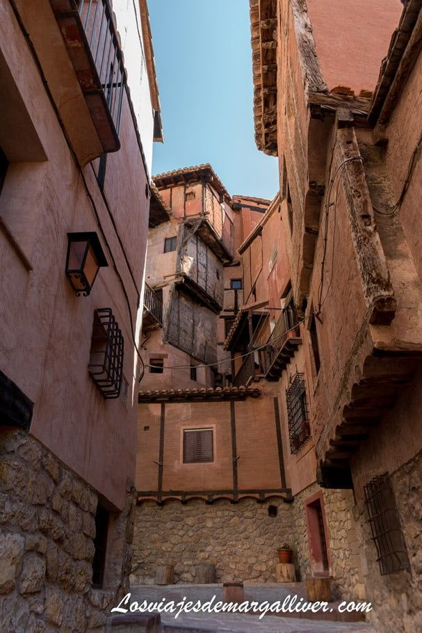 entresijos de casas en Albarracín - los viajes de Margalliver