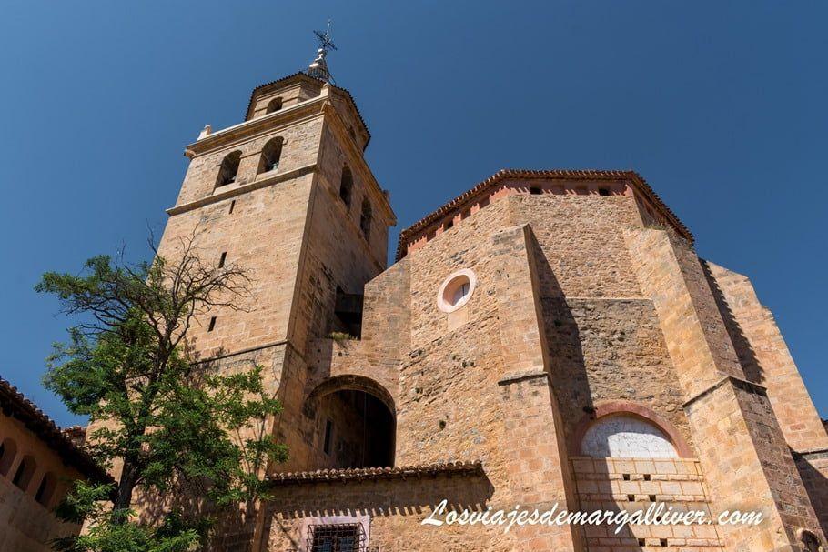 Catedral de San Salvador en Albarracín - Los viajes de Margalliver