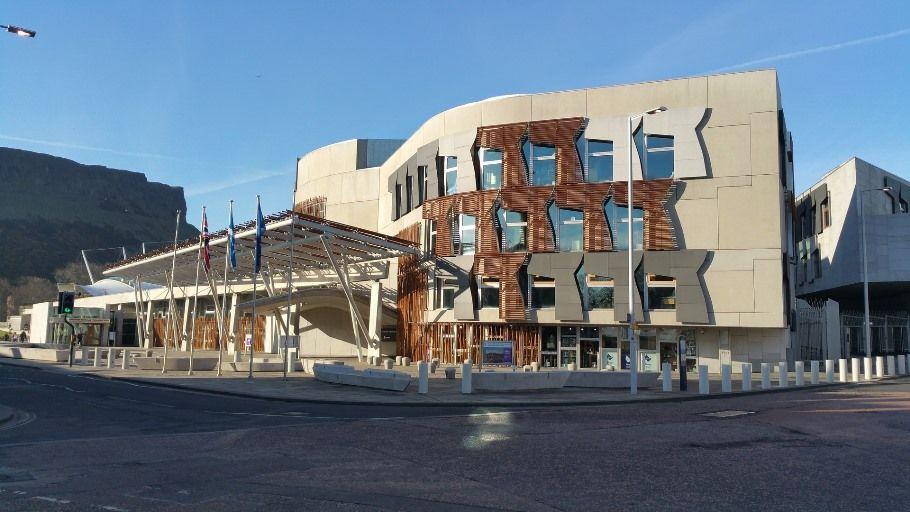 Parlamento de Escocia en Edimburgo - Los viajes de Margalliver