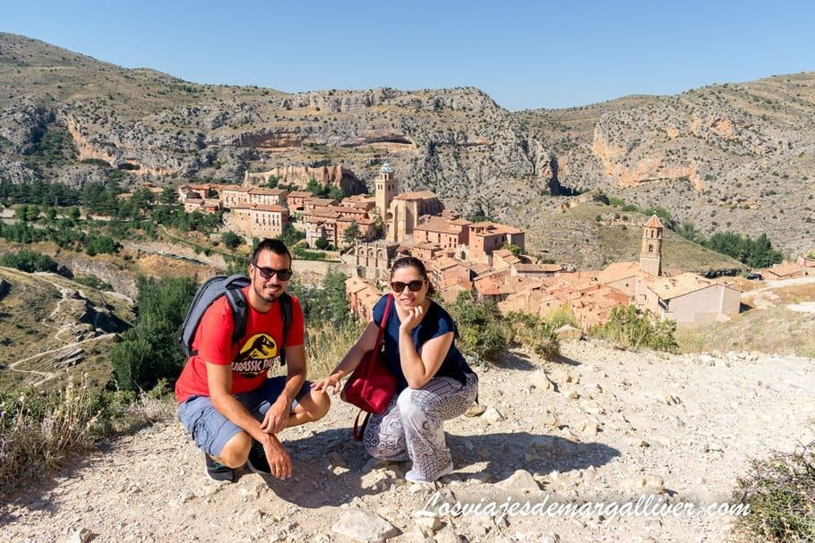 Vistas desde la muralla de Albarracín , Teruel - Los viajes de Margalliver