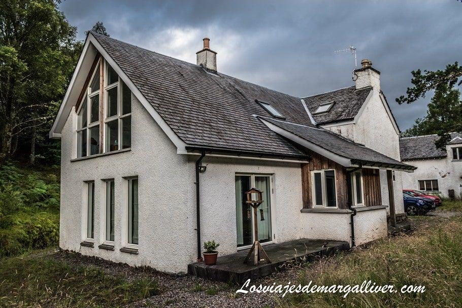 Nuestra casa de Airbnb en Fort William , ciudad base en nuestra ruta en coche por Escocia - Los viajes de Margalliver
