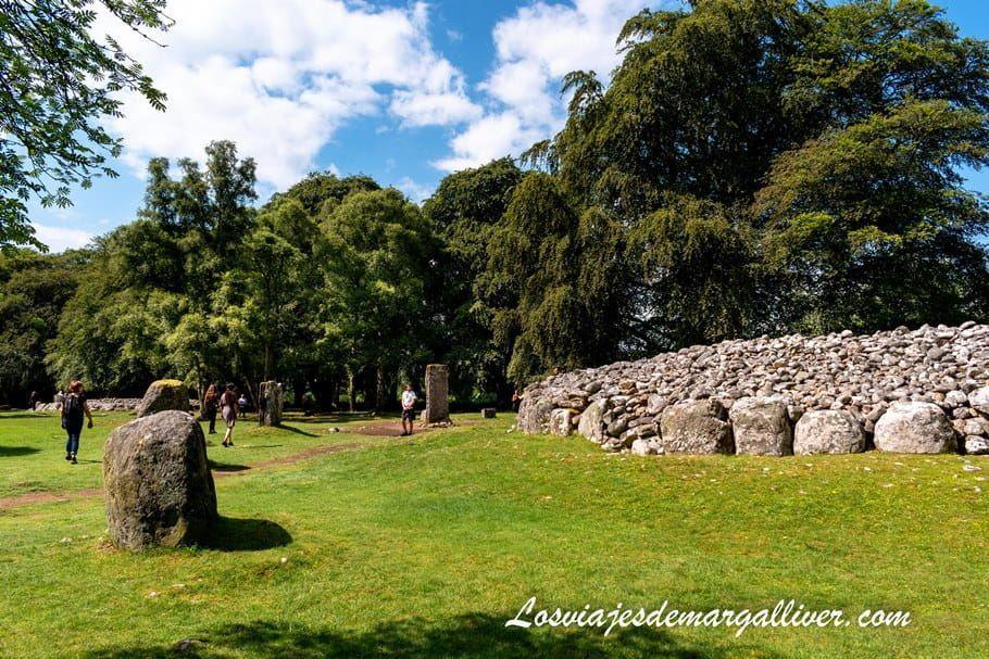 Clava Cairns en Escocia - Los viajes de Margalliver