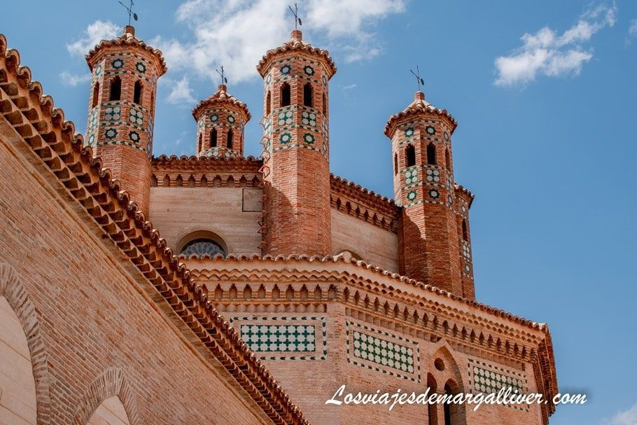 El ábside del complejo mudéjar de San Pedro en Teruel - Los viajes de Margalliver