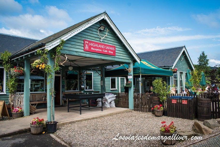 Restaurante Highland Safaris en nuestra ruta en coche por Escocia de una semana - Los viajes de Margalliver