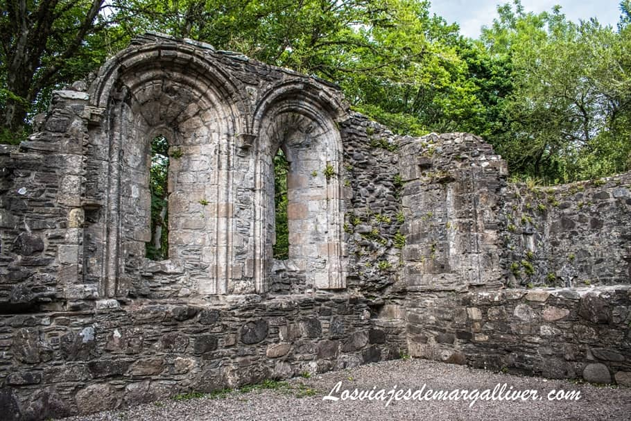 Iglesia en ruinas del Castillo Dunstaffnage - Los viajes de Margalliver