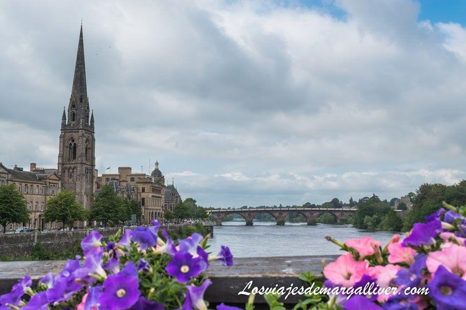 La ciudad hermosa de Perth en Escocia - Los viajes de Margalliver
