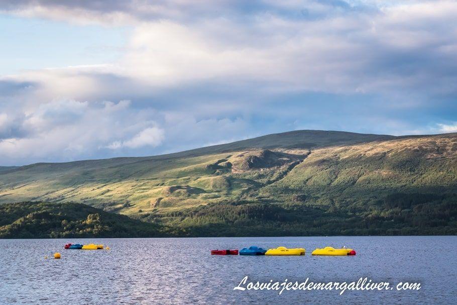 Lago Lomond en nuestra ruta en coche de una semana por Escocia - Los viajes de Margalliver