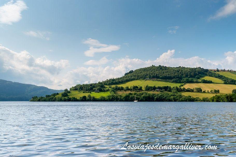 Lago Ness , el más famoso de Escocia - Los viajes de Margalliver