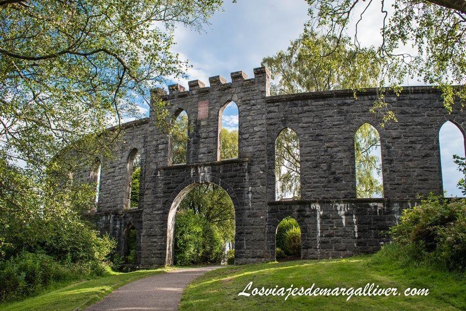 McCaig's Tower en Oban, recorriendo las Highlands de Escocia en coche - Los viajes de Margalliver