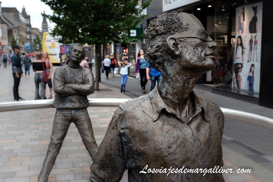 Esculturas del centro de Perth en Escocia - Los viajes de Margalliver