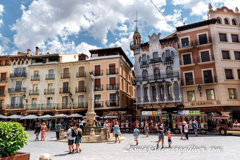 Plaza del Torico en Teruel - Los viajes de Margalliver