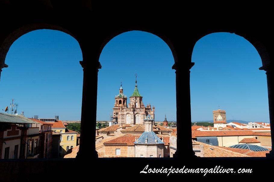 Vistas desde Museo provincial de Teruel - Los viajes de Margalliver
