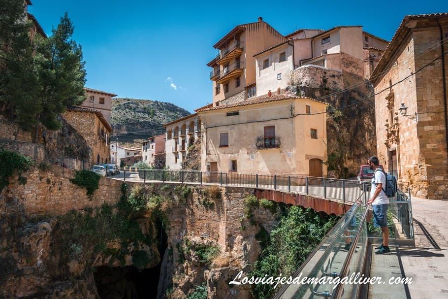 Barranco de San Nicolas en Molinos en la ruta en coche por Teruel - Los viajes de Margalliver