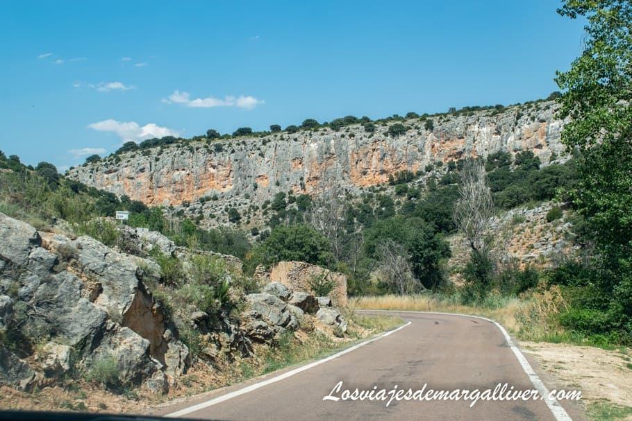 La carretera A-202 en la provincia de Zaragoza - Los viajes de Margalliver