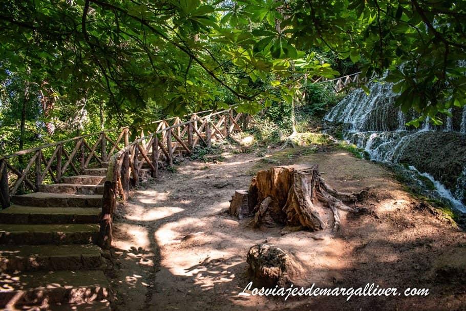 Fresnos Altos y Bajos en Monasterio de Piedra - Los viajes de Margalliver