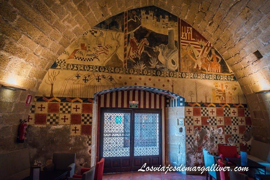 Parador de Alcañiz en la ruta en coche por Teruel - Los viajes de Margalliver