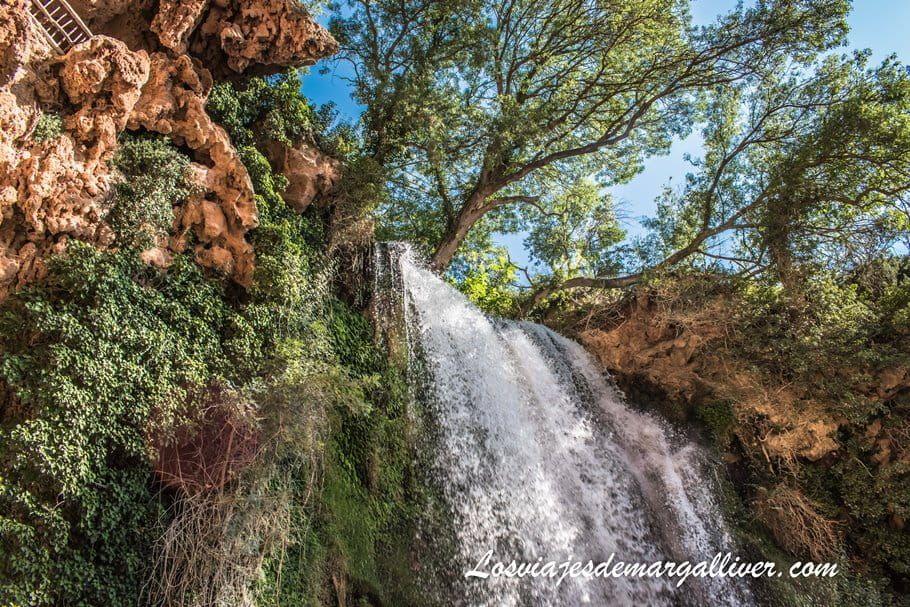 La Cascada Cola de Caballo en Monasterio de Piedra - Los viajes de Margalliver